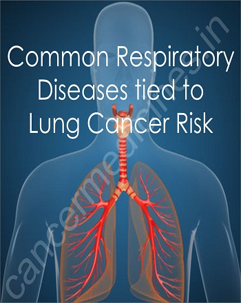 Common Respiratory Diseases Tied to Lung Cancer Risk